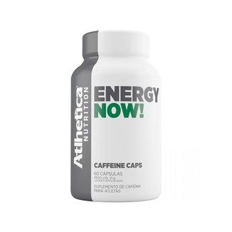 Energy Now 60 Cáps    Atlhetica Nutrition