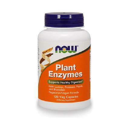 Enzimas Digestivas de Plantas 120 cápsulas - NOW - Unissex