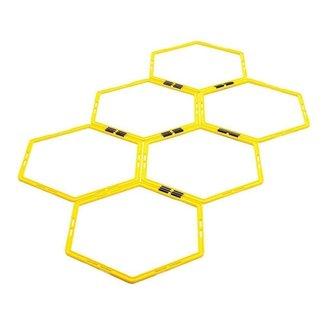 Escada Agilidade Pro Treinamento Funcional Hexagonal 09117-AP