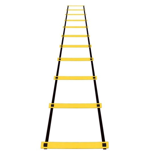 Escada Agilidade Treinamento Funcional Nylon - Amarelo