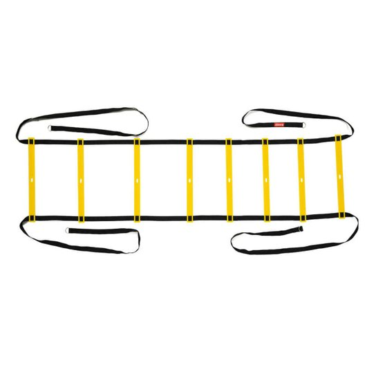 Escada de Agilidade Genis - Preto+Amarelo