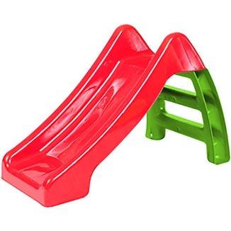 Escorregador Infantil Vermelho/Verde 92x50x59,5 cm Bel