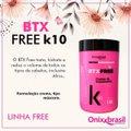ESCOVA BOTOX FREE K10 SEM FORMOL 1 KG - ONIXX (UNICO)