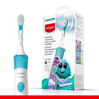 Escova de Dente Elétrica Infantil Philips Colgate SonicPro Kids