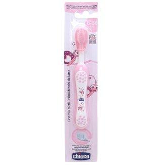 Escova de Dentes para Bebê Chicco 6-36 Meses Rosa