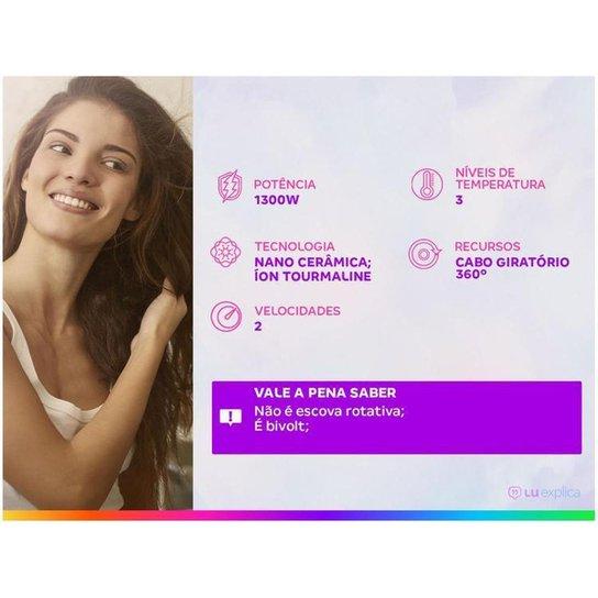 Escova Secadora Britânia Soft BES11PK - Roxo