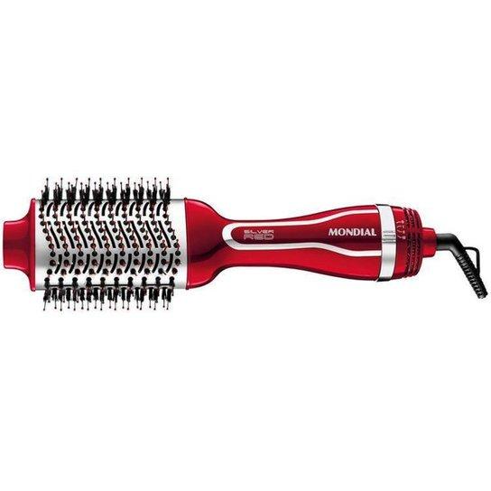 Escova Secadora Mondial 1200W com Íons - Vermelho