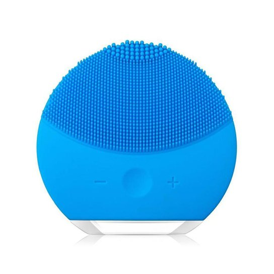 Esponja Elétrica Massageadora para Limpeza Facial e de Pele  Forclean - Azul