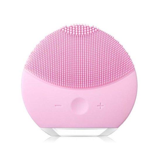Esponja Elétrica Massageadora para Limpeza Facial e de Pele - Forclean - Rosa