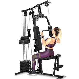 Estação De Musculação Academia Podiumfit Me100 50Kg