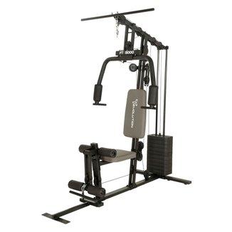 Estação De Musculação Evolution Fitness FT 8000 Aço Preto