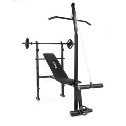 Estação de Musculação S 600 - Unissex - Preto