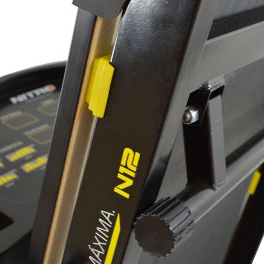 Esteira Ergométrica Elétrica Nitro N12 Polimet - Preto