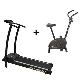 Esteira Ergométrica Ep-1600 E Bicicleta Ergométric