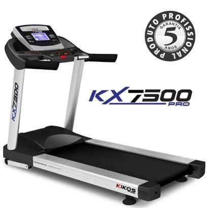 Esteira Kikos KX7500 220V - Unissex - Preto