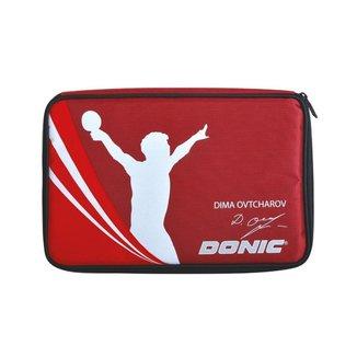 Estojo para Raquete de Tênis de Mesa Donic Ovtcharov Plus Cover x 2
