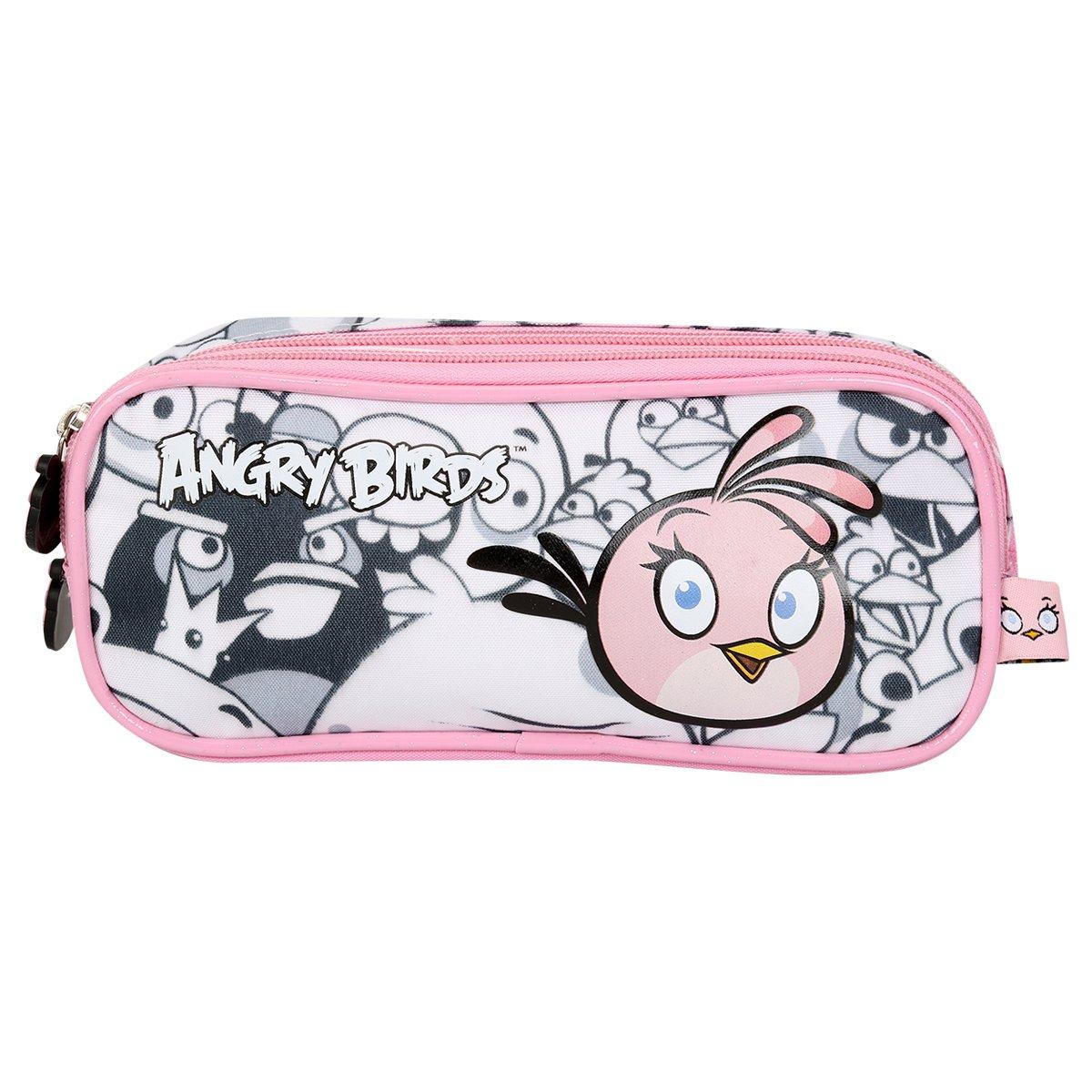Estojo Santino Angry Birds - Compre Agora  2ba2f86f316