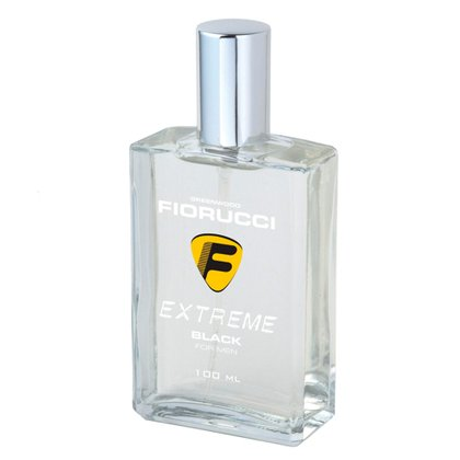 Extreme Black For Men Fiorucci- Perfume Masculino - Deo Colônia 100ml