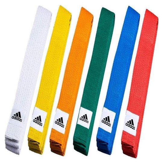 Faixa Adidas Judô Club Belt - Marrom - Marrom