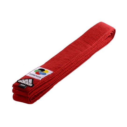 Faixa de Graduação Adidas Karatê Elite WKF 320 - Vermelho