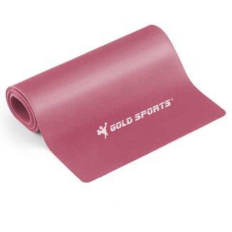 Faixa Elástica Gold Sports Omega Tensão Fraca