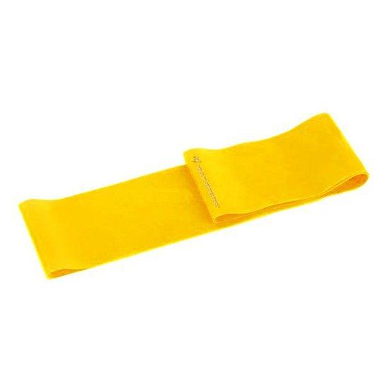 Faixa Elástica Gold Sports Para Exercício - Amarelo