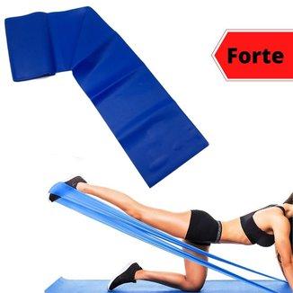 Faixa Elástica Pilates Thera Band Intensidade Forte