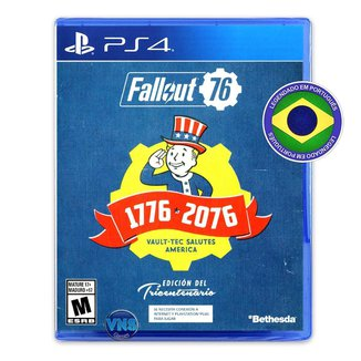 Fallout 76 - Edição Tricentenária - PS4