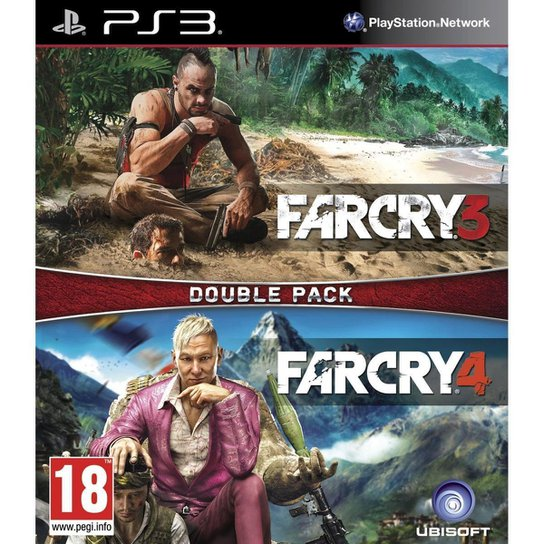 Far Cry 3 & 4 (Double Pack) - PS3 - Incolor
