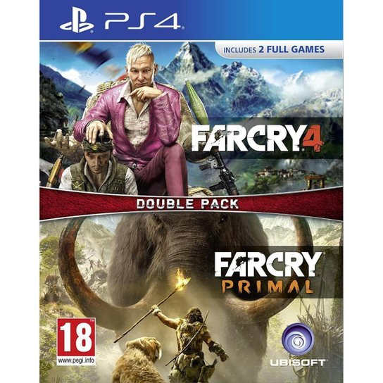 Far Cry Primal and Far Cry 4 (Double Pack) - PS4 - Incolor
