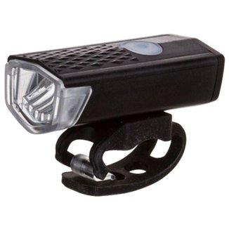 Farol com Luz de Led Forte para Bicicleta Montain Bike e Pedal Noturno Bateria Recarregável
