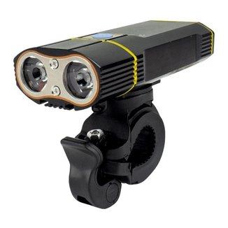 Farol dianteiro recarregável USB 900 lumens TSW