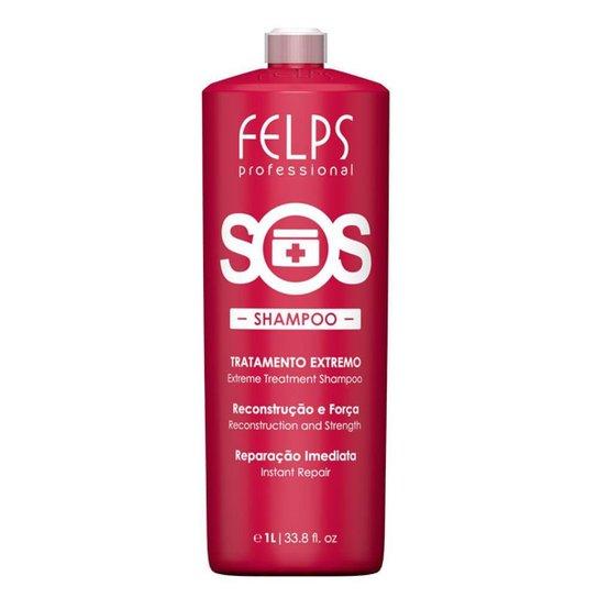 Felps S.O.S. Reconstrução Shampoo 1L - Incolor