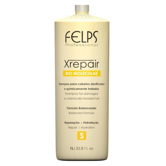 Felps Xrepair Bio Molecular - Shampoo 1L - Incolor