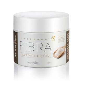 Fibregum Fibra Vegana Sabor Neutro 150g Nutrawell