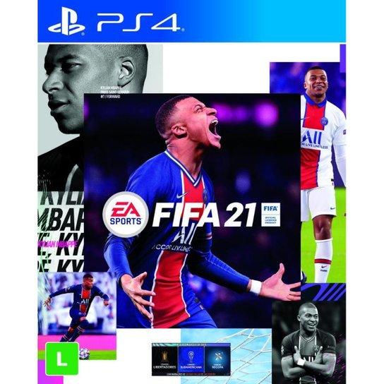 FIFA 21 - PS4 - Incolor