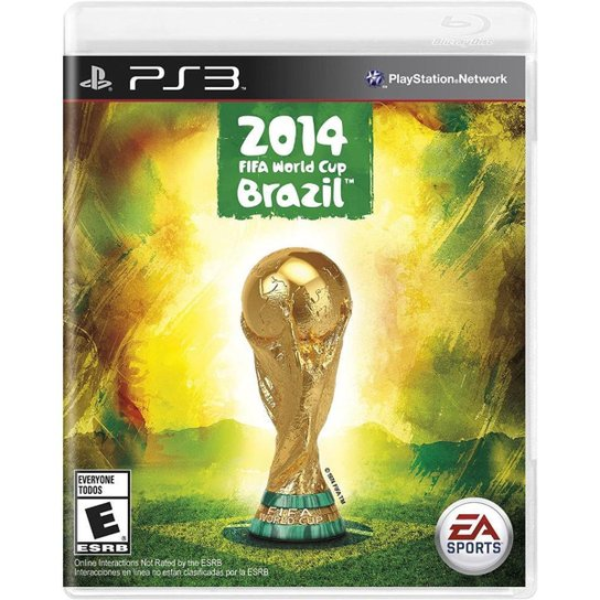 FIFA World Cup Brazil - PS3 - Incolor