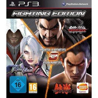 Fighting Edition: Tekken Tag 2, Tekken 6 & Soulcalibur V - PS3