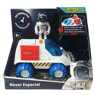 Figura com Veiculo Rover Espacial Astronautas Fun F0024-2