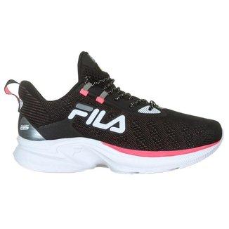 Fila Tênis Racer For All Feminino Preto/Branco/Rosa