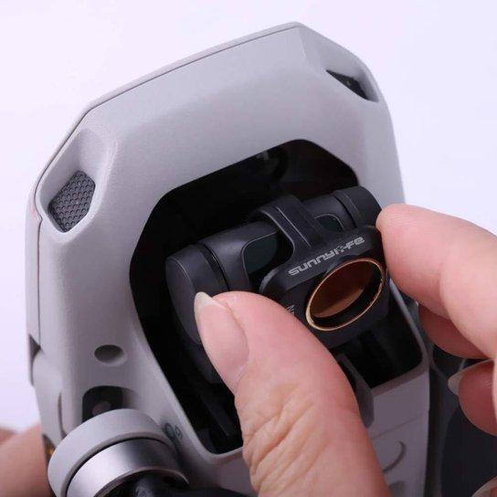 Filtro ND8/PL para Drone DJI Mavic Mini e Mini 2 - Sunnylife - Incolor