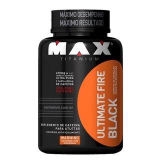 FIRE BLACK - 60 CAPS MAX TITANIUM
