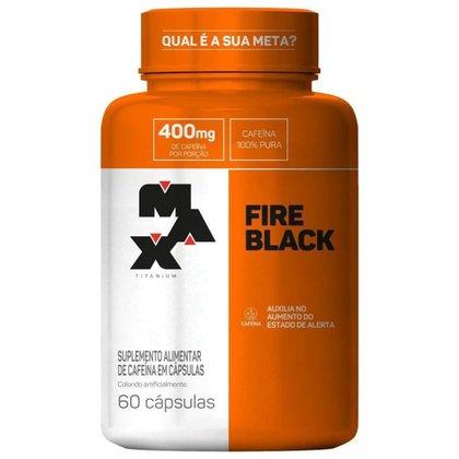 Fire Black 60 Caps - Max Titanium