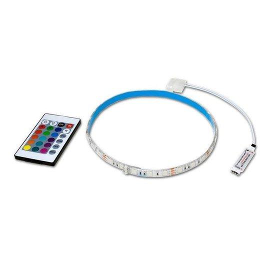 Fita Led Pichau Gaming RGB 50cm c/ Controle PG-LED50RGB - Branco