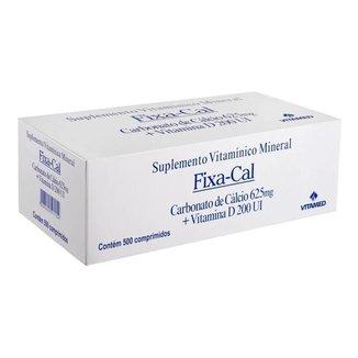 Fixa-cal - 500 Comprimidos (cálcio 625mg + Vitamina D 200ui)