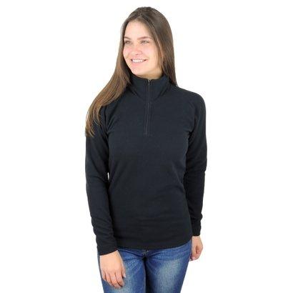 Fleece Térmico Meio Zíper (Thermo Fleece) Feminino - Feminino