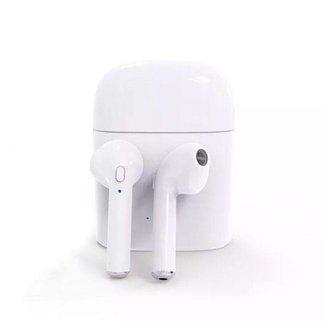 Fone De Ouvido Airpod Bluetooth I7s Tws Iphone Android Sem Fio
