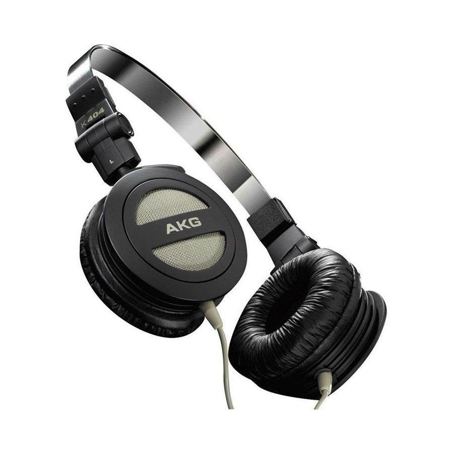 963e0fcbe0e Fone de Ouvido AKG K404 Dobrável - Preto - Compre Agora