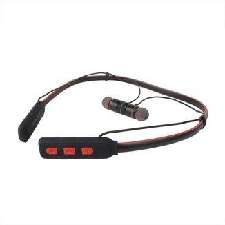 Fone de Ouvido Bluetooth Com Suporte Sem Fio