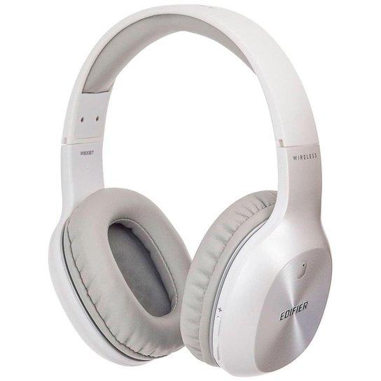 Fone de Ouvido Bluetooth Edifier W800BT Plus - Microfone - até 55 horas de bateria - Branco - Azul